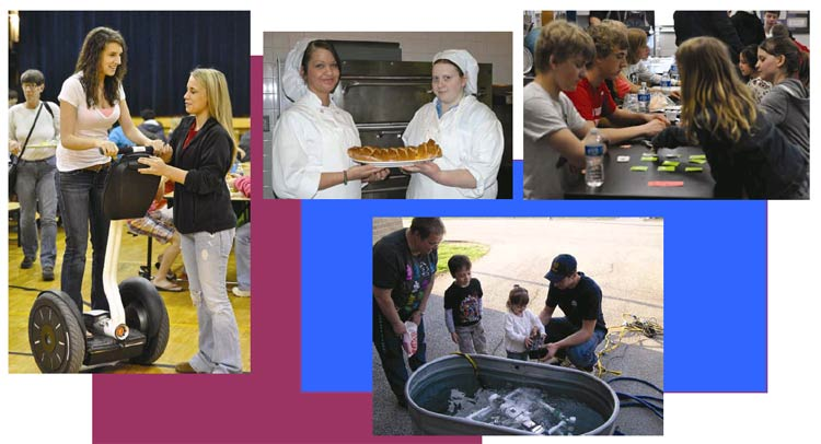 Various student activities