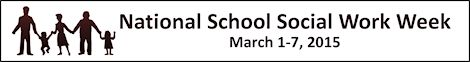 National School Social Work Week 2015