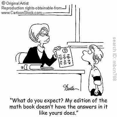 math cartoons   cha math