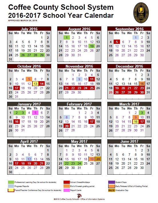 right click here to print this page calendar 2016 17 monthly 3 25 2016