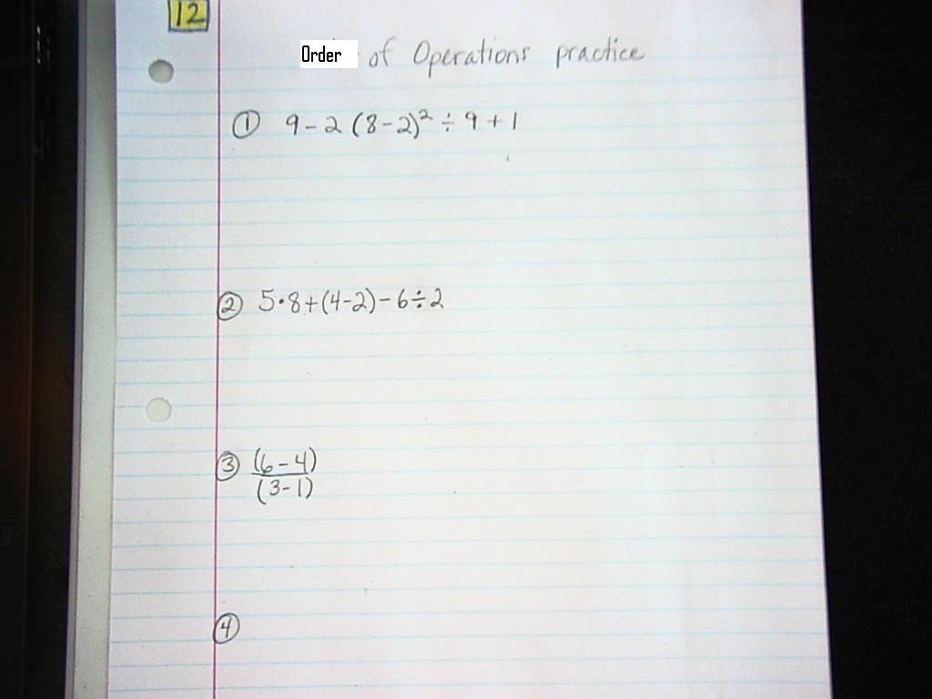 5 grade math problems