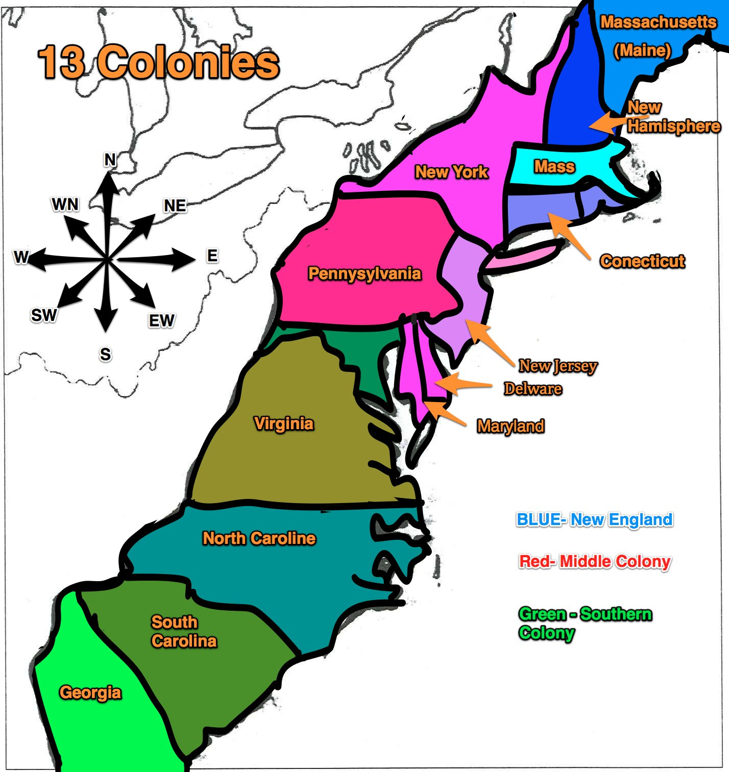 american colonies History of british colonial america including virginia,  is typical of the way british colonies are founded along the american coast south of new england.