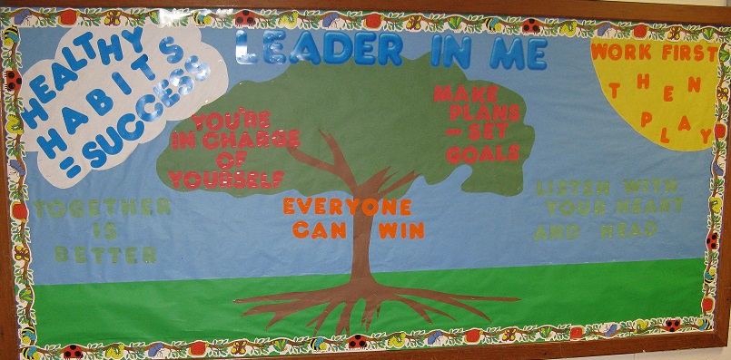 Reform elementary school latest news the 7 habits of for 7 habits tree mural