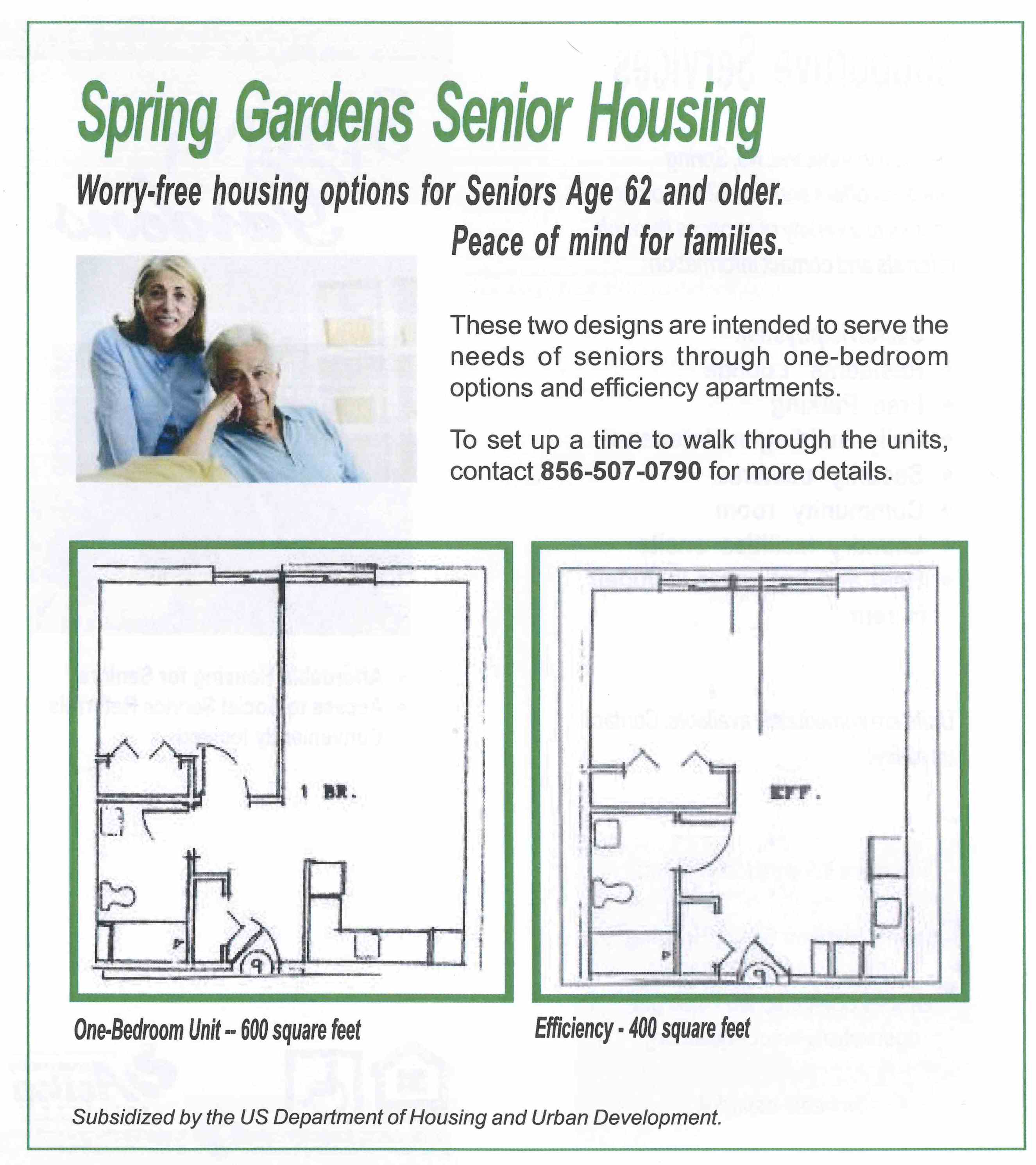 Spring Gardens Senior Housing Gateway Community Action Partnership